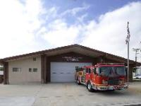 Fire Department building and truck