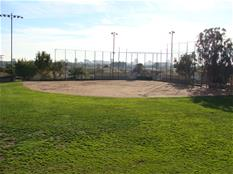 Baseball field diamond