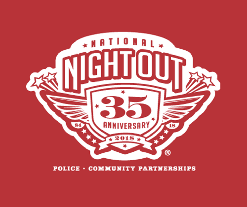 National Night Out 35th Anniversary Logo