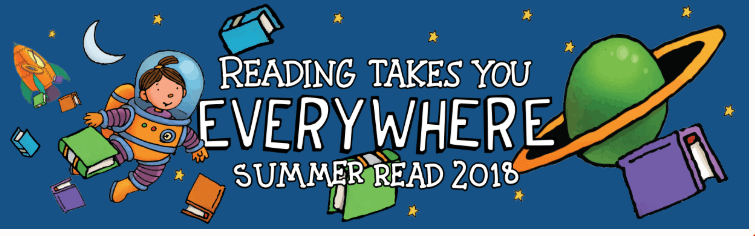 Reading Takes You Everywhere Banner