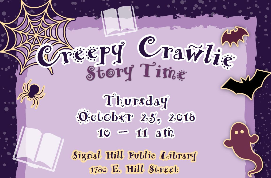 Creepy Crawlie Story Time