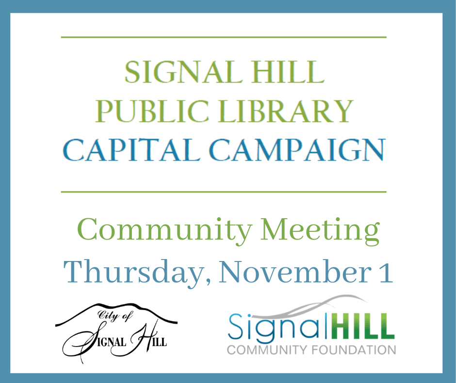 Library Capital Campaign Community Meeting News Flash (2)