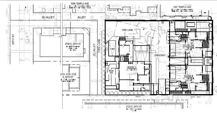 2750 E. 20th St Site Plan