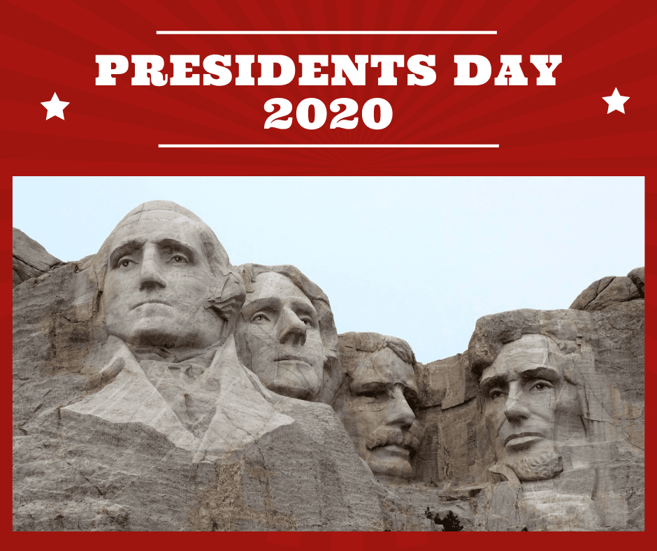 Presidents Day 2020 Mount Rushmore photo