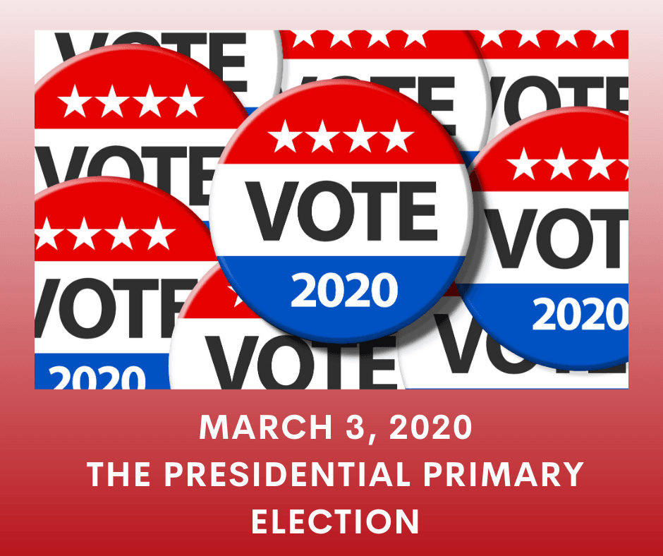 2020 primary election