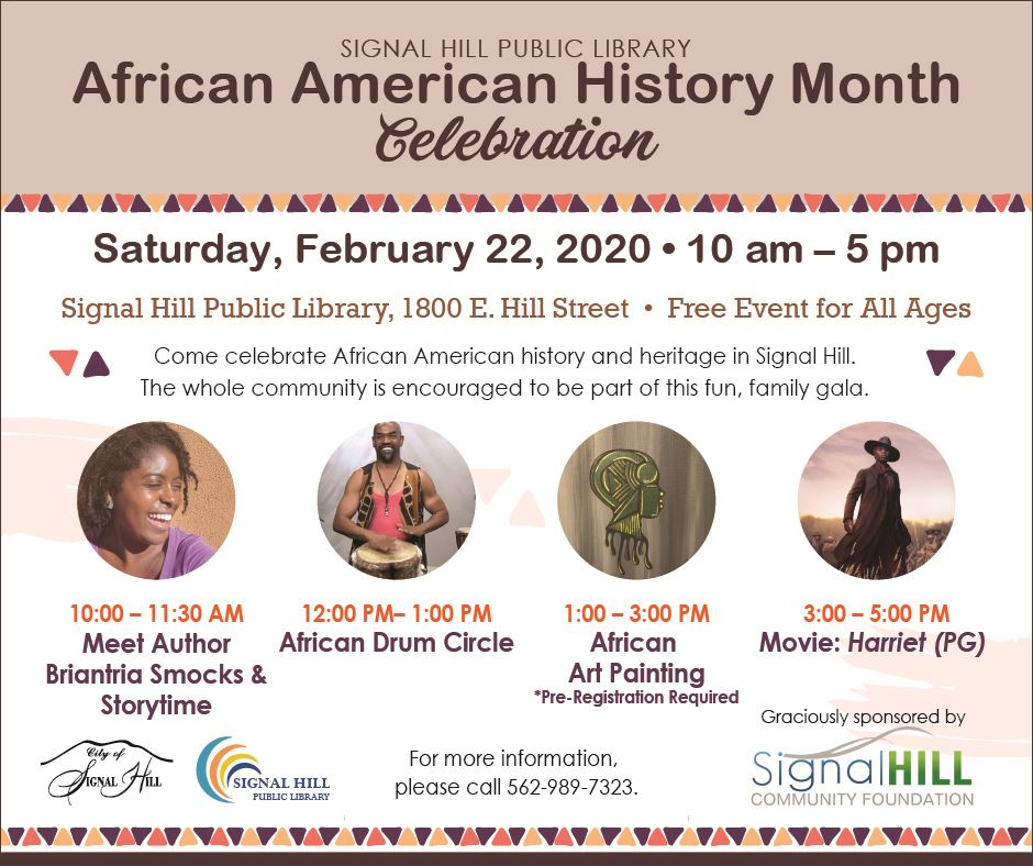 2020 Library African American History Celebration